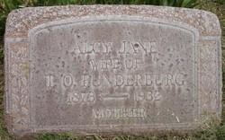 Alcy Jane <i>Littrell</i> Funderburg