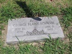 George Blaine Schwabe