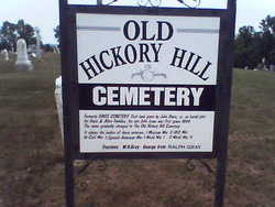 Old Hickory Hill Cemetery