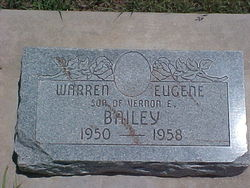 Warren Eugene Bailey