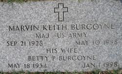 Marvin Keith Burgoyne