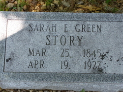 Sarah E. <i>Green</i> Story