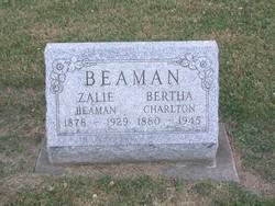 Bertha <i>Charlton</i> Beaman