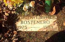 Dorothy Lewis <i>Butler</i> Bostenero
