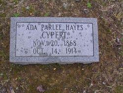 Ada Parlee <i>Hayes</i> Cypert