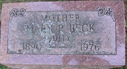 Mary P <i>Campbell</i> Beck