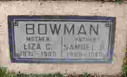 Samuel H Bowman