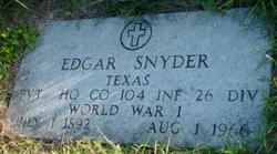 Pvt Edgar Snyder