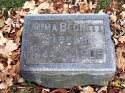 Alma <i>Beckett</i> Barker