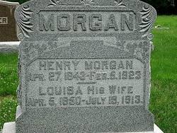 Louisa A. <i>Ellis</i> Morgan