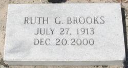 Annie Ruth <i>Garrett</i> Brooks