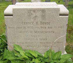 Waity M <i>Mathewson</i> Boyce