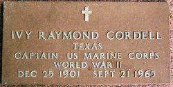Ivy Raymond Cordell