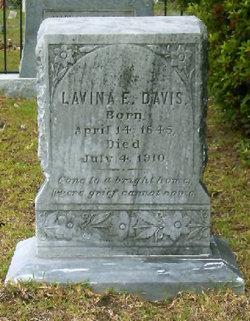 Lavina E <i>Hutson</i> Davis