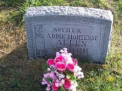 Addie Hortense <i>Timmons</i> Allen