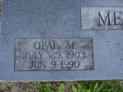 Opal M. <i>Sanders</i> Mesplay