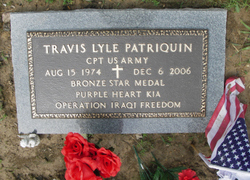 Capt Travis Lyle Patriquin