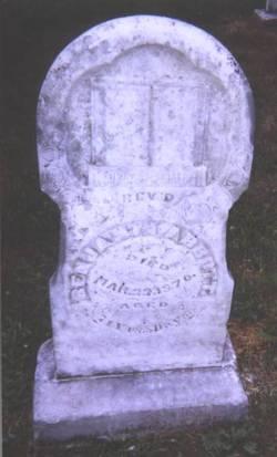 Rev Benjamin Abbott