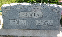 Alice Leona <i>Carlin</i> Erwin