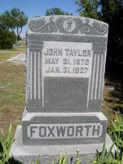 John Taylor Foxworth