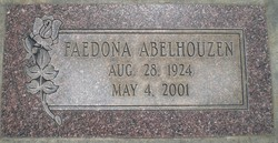 Faedona Burhnam <i>Reeves</i> Abelhouzen