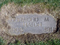 Durwood Moss Hatch