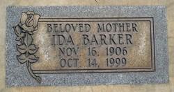 Ida <i>Matson</i> Barker