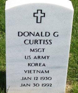 Sgt Donald Gene Curtiss