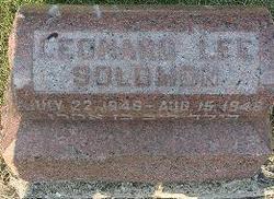 Leonard Lee Solomon