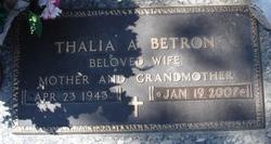 Thalia A <i>Watson</i> Betron