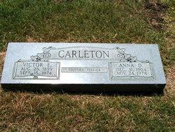Anna D. <i>Gerhardt</i> Carleton