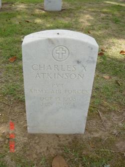 Charles Xavier Atkinson