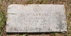 Joseph W Joe Arrington