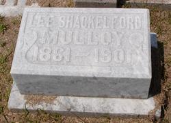 Lee Anna <i>Shackelford</i> Mulloy