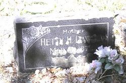 Hetty H. Dawson