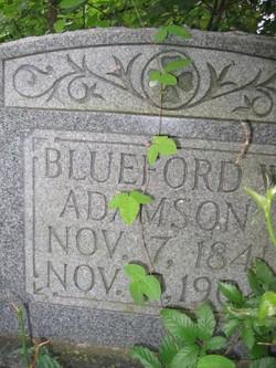 Bluford Wells Adamson