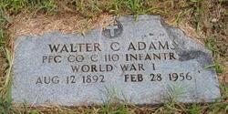 Walter C Adams