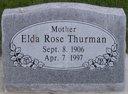 Elda Rose <i>Hepworth</i> Thurman