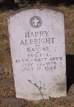 Pvt Harry Albright