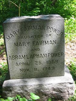 Mary <i>Fairman</i> Power