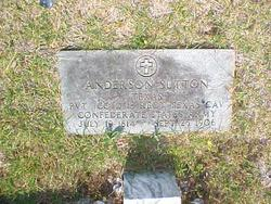 Pvt Anderson Sutton