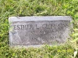 Esther Lee <i>Lewis</i> Clemmons