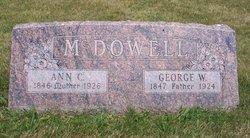 Ann Cone <i>Calkins</i> McDowell