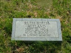Ruth Edith <i>Franklin</i> Altland