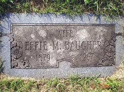 Effie M <i>Watkins</i> Baugher