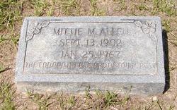 Mittie <i>McMullan</i> Allen