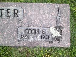 Emma E. <i>Pitman</i> Carter