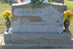 Beverly Jean <i>Maines</i> Abernathy