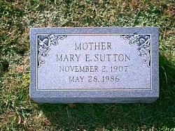 Mary Elizabeth <i>Kincheloe</i> Sutton