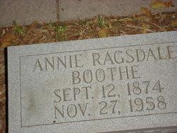 Annie <i>Ragsdale</i> Boothe